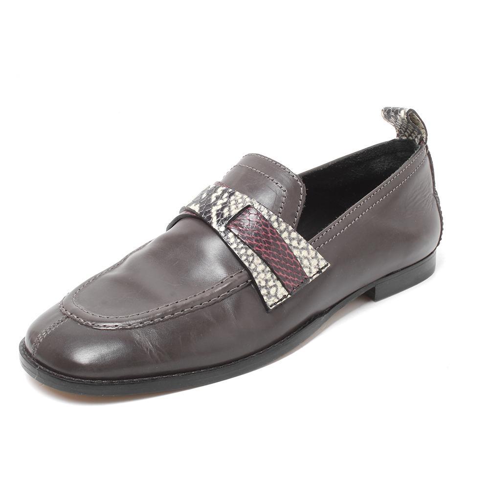 Isabel Marant Size 38 Leather Slip- On Loafers