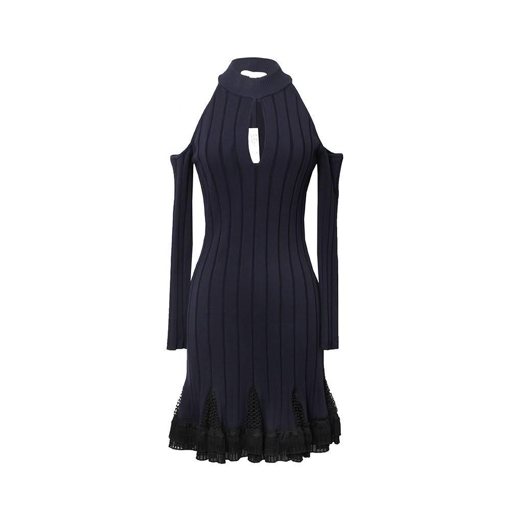 Jonathan Simkhai Size Medium Navy Dress