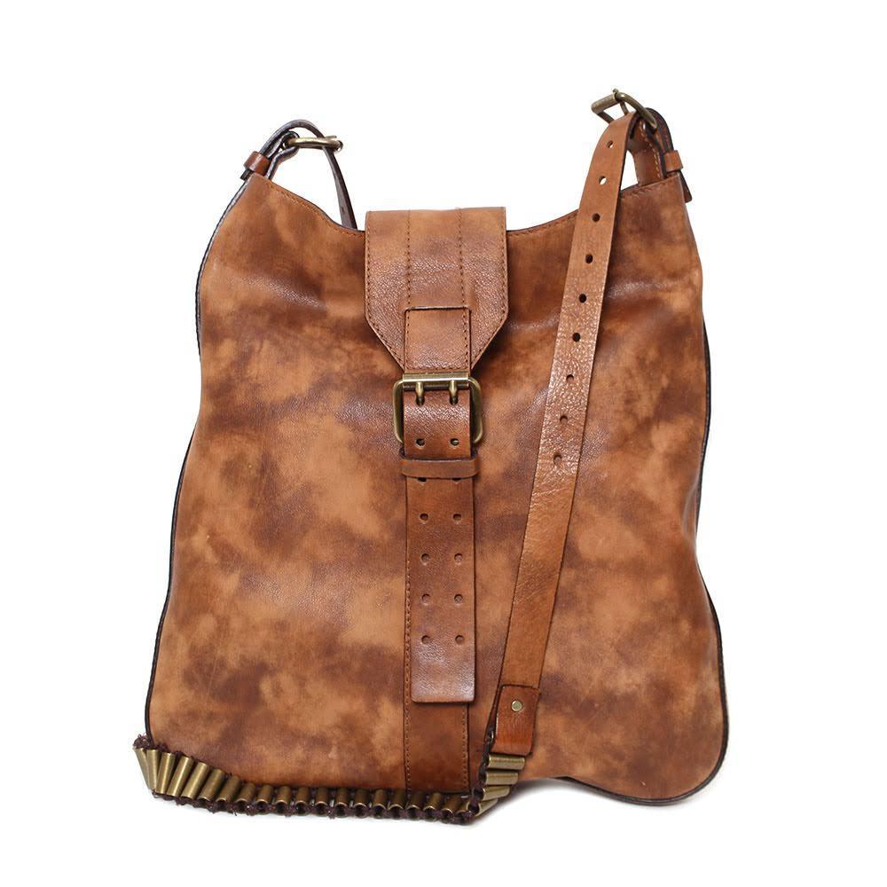Celine Brown Leather Crossbody