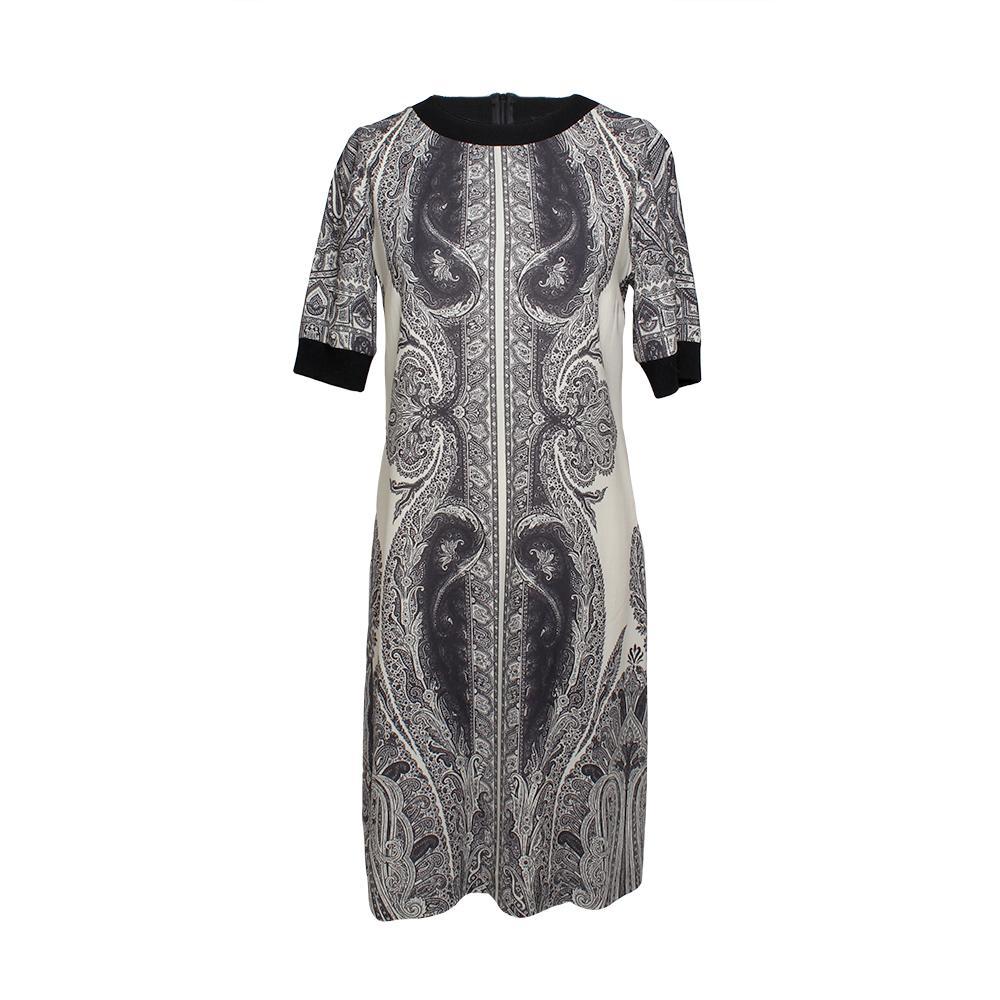 Etro Size 42 Paisley Print Dress
