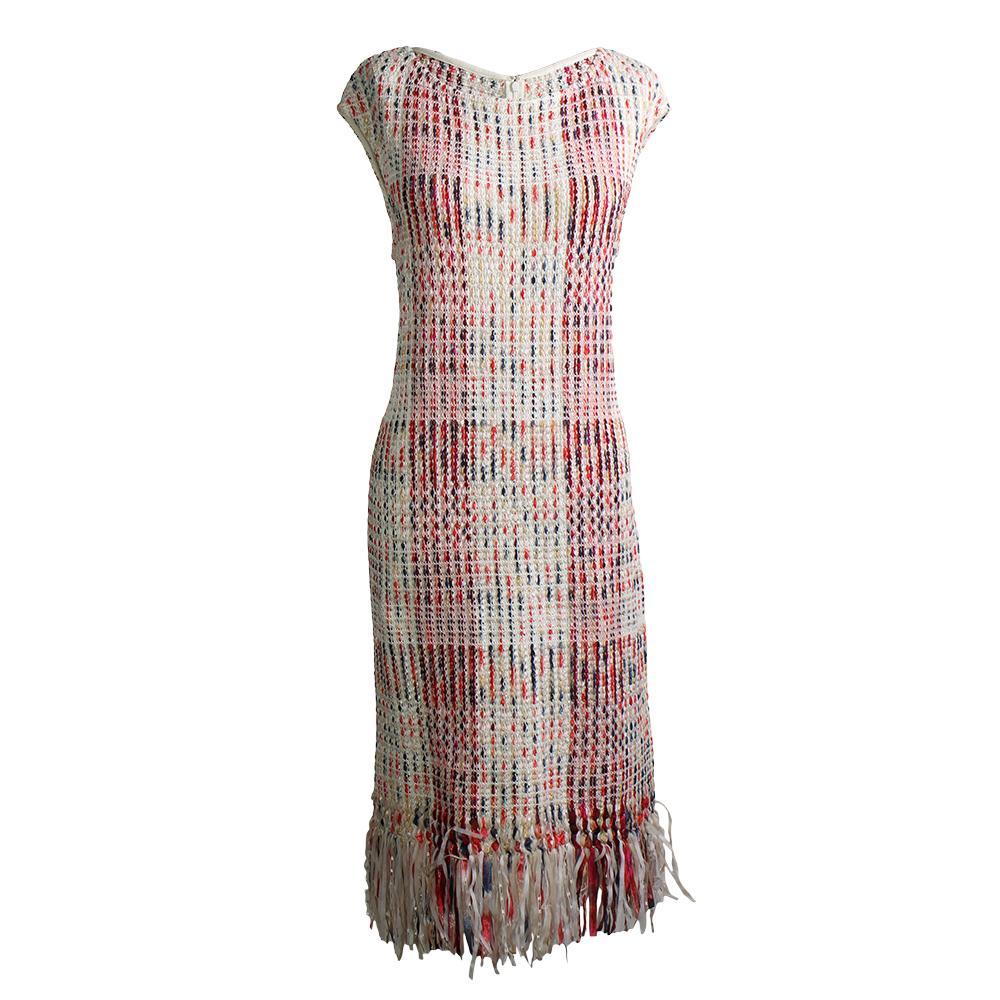 St.John Size M Tweed Dress