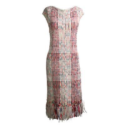 St. John Size M Tweed Dress
