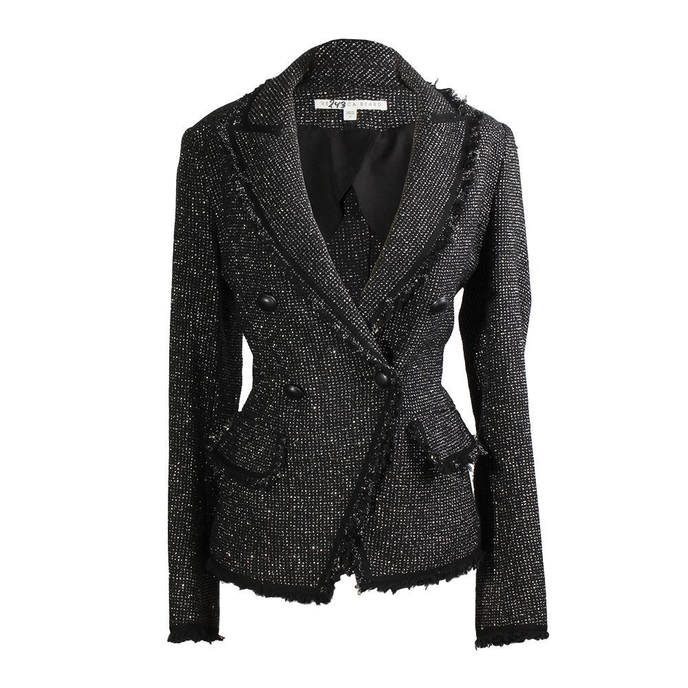 Veronica Beard Size 8 Frisco Tweed Jacket