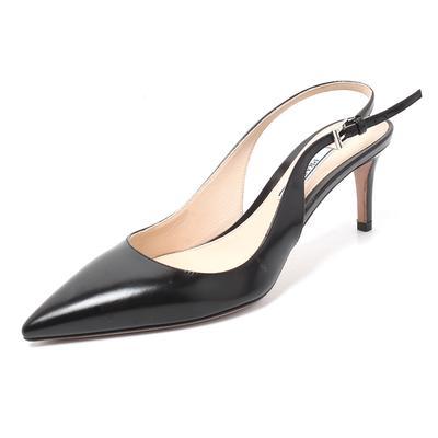 Prada Size 36.5 Slingback Heel