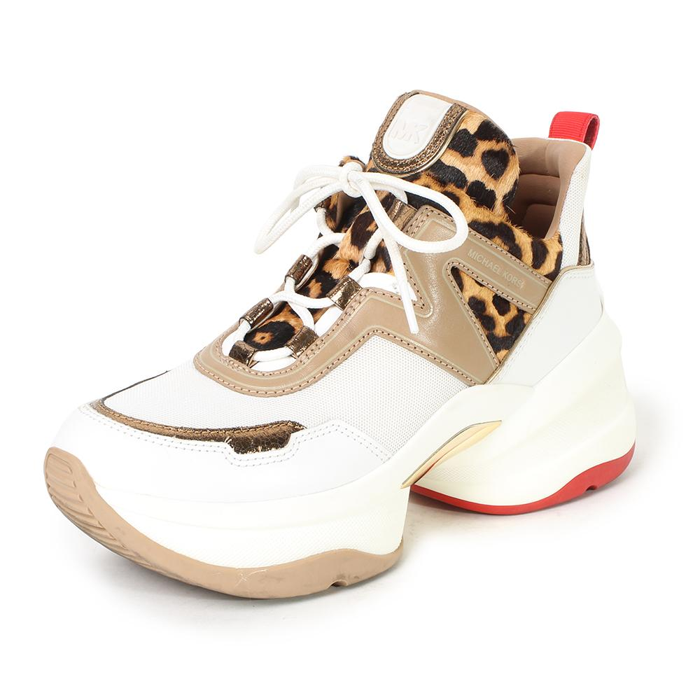 Michael Michael Kors Size 9 Olympia Sneakers