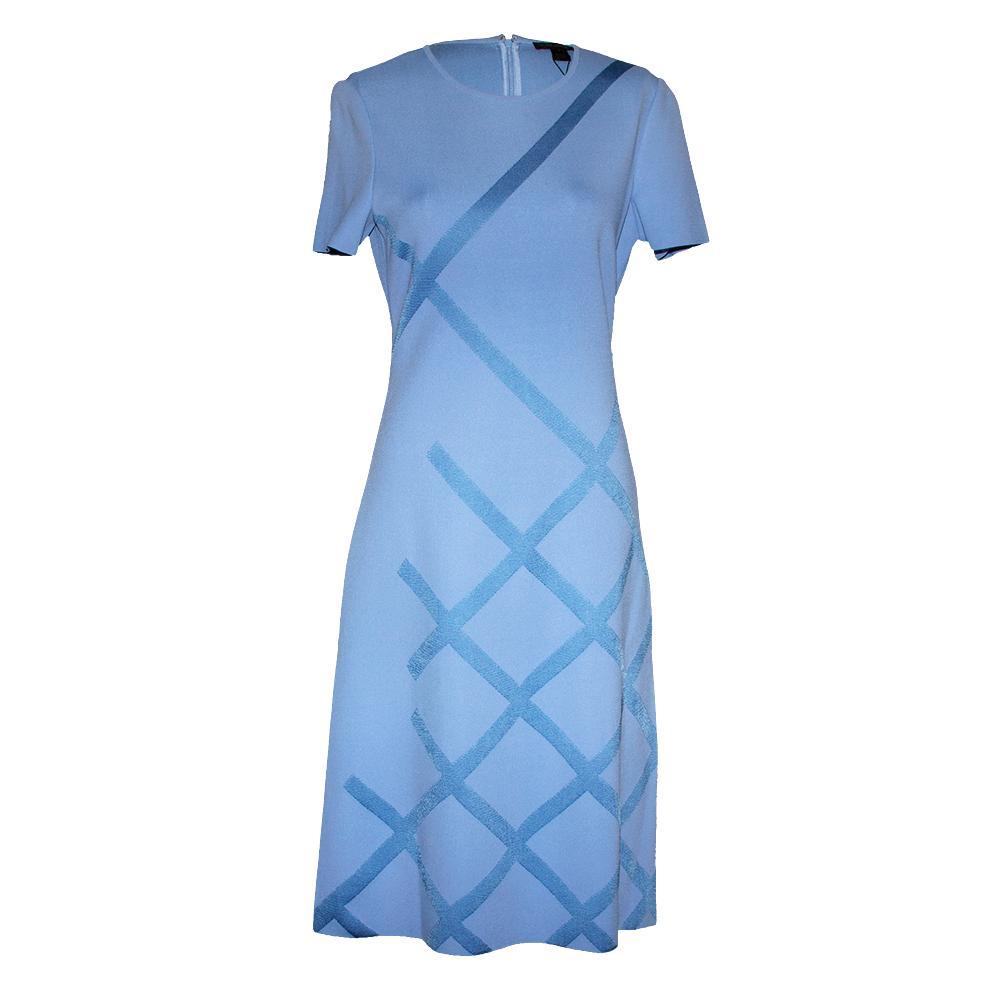 St.John Size 4 Blue Marina Dress