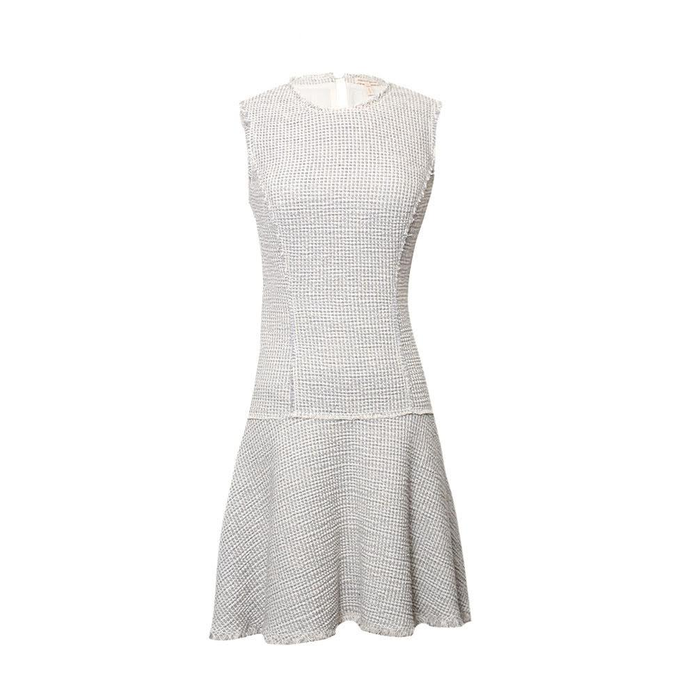 Rebecca Taylor Size 0 Silver Dress