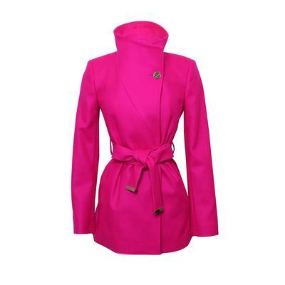 Ted Baker Size 0 Pink Coat