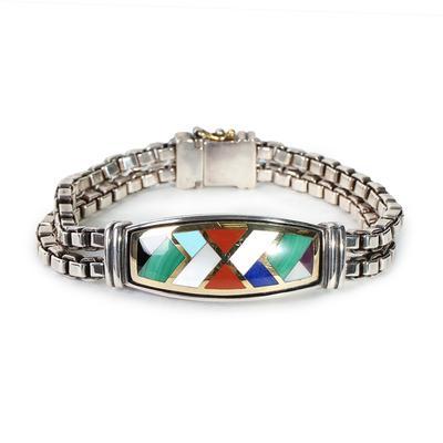 Asch Grossbardt Box Chain Bracelet