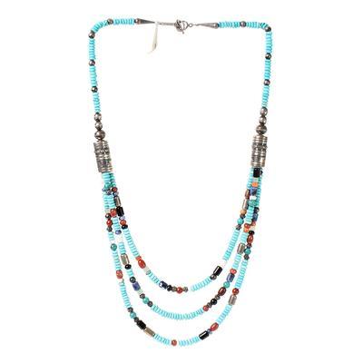 Doreen Lyea Multi Gemstone Necklace