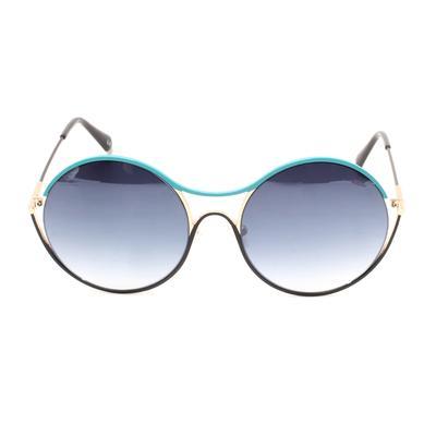 Balmain Turquoise Round Lens Sunglasses