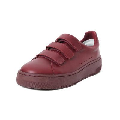 Sandro Size 40 Maroon Velcro Sneaker