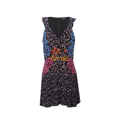Saloni Size 10 Floral Dress