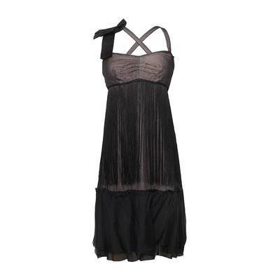Dolce & Gabbana Size Small Bow Fringe Dress