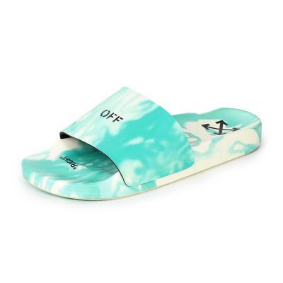 Off-White Size 38 Tie-Dye Pool Slides