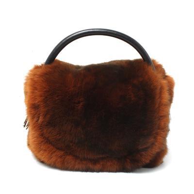 Alexander Wang Mini Rabbit Fur Bag