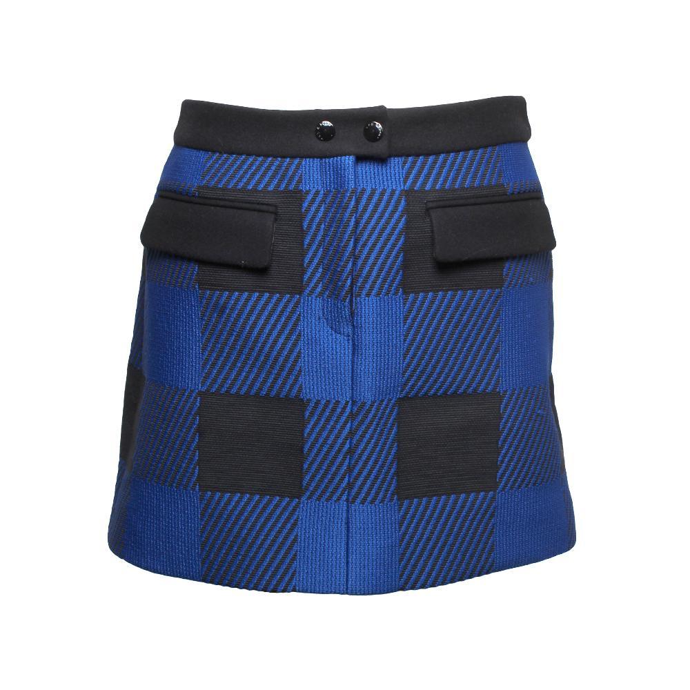Rag + Bone Size 2 Buffalo Check Plaid Mini Skirt