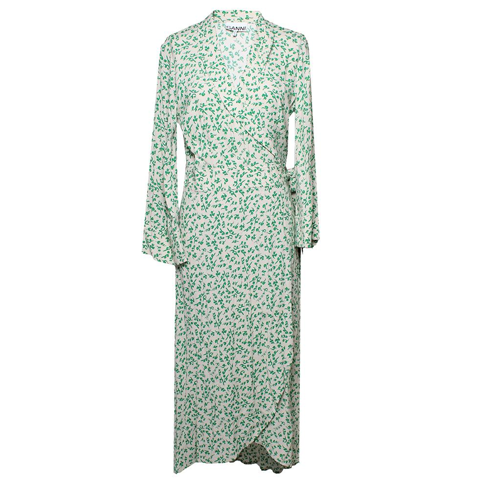 Ganni Size Small Wrap Dress