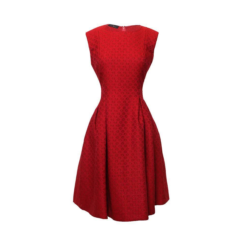 Carolina Herrera Size 6 Small Red Dress