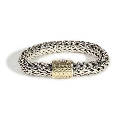 John Hardy 18k Gold & Sterling Classic Chain Bracelet