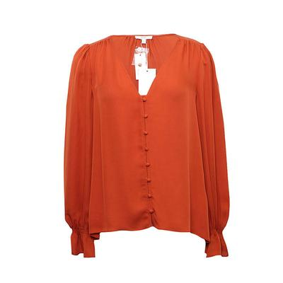 Joie Size S Orange Blouse