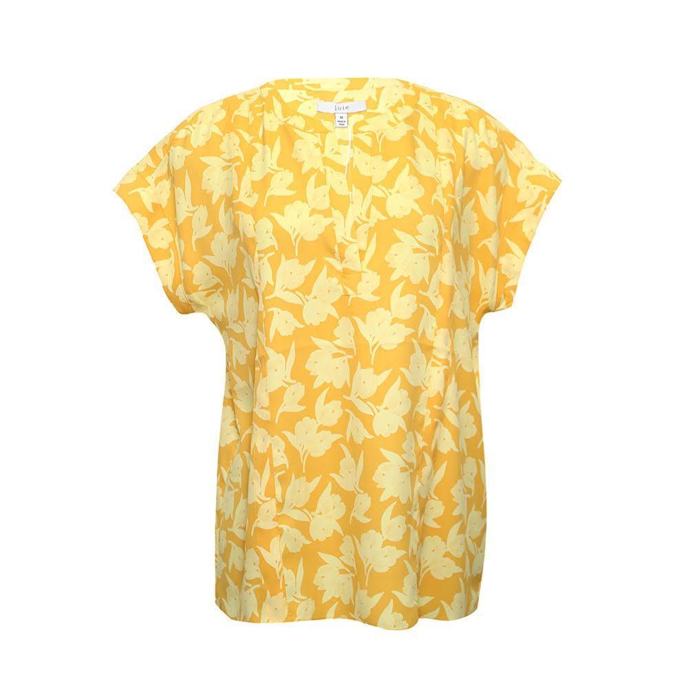 Joie Size M Yellow Shirt