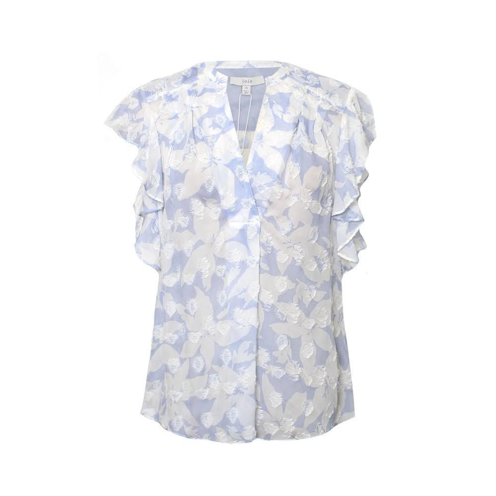 Joie Size Xs Blue Shirt