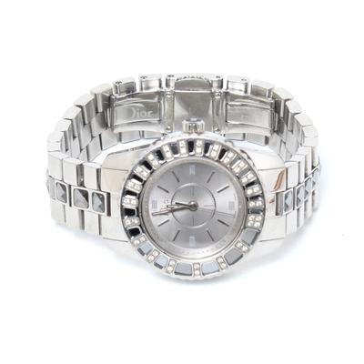 Christian Dior Diamond Crystal Watch