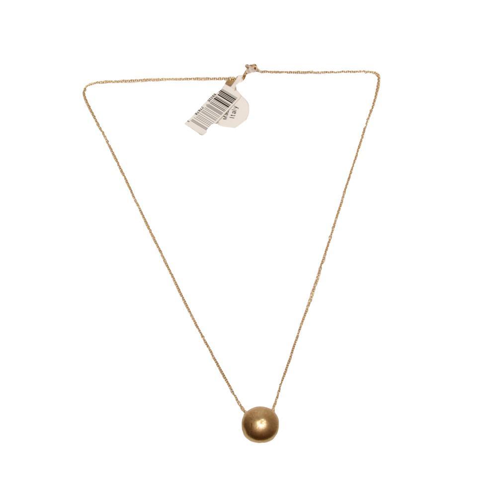 14k Gold Rci Circle Pendant Necklace