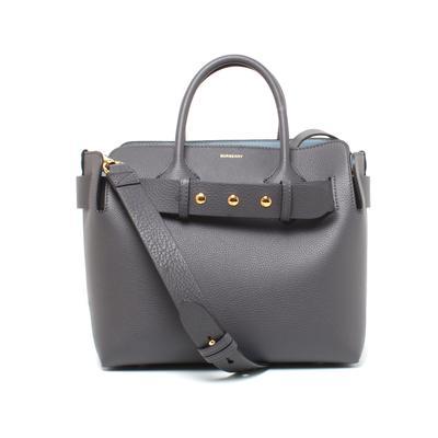 Burberry Medium Two Tone Leather Belt Bag
