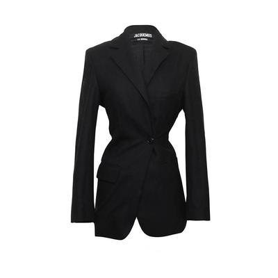 Jacquemus Size 34 Black Blazer