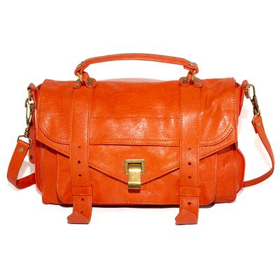 Proenza Schouler Orange Leather Handbag