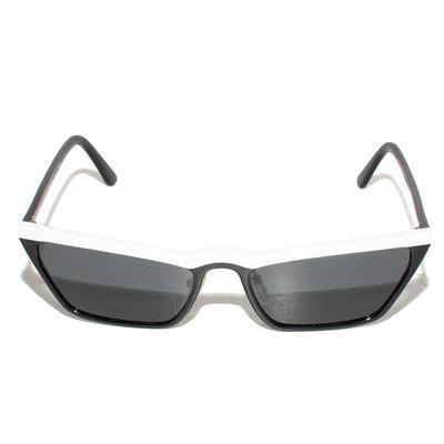 Prada White Catwalk Sunglasses