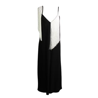 Ellery Size 6 'Fandango' Fringe Maxi Dress