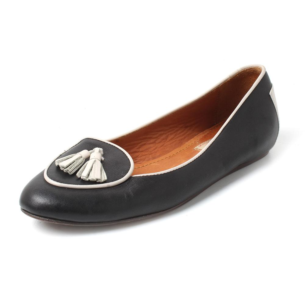 Lanvin Size 36.5 Leather Flats