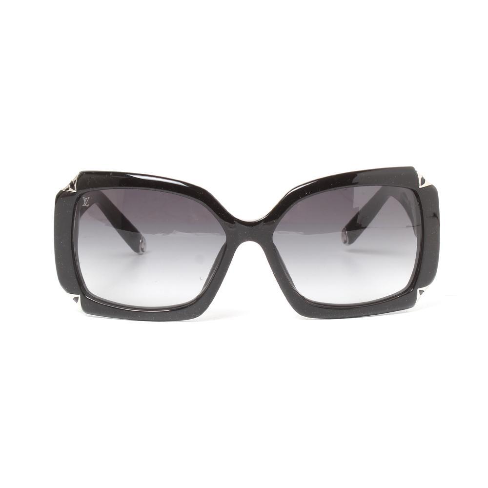 Louis Vuitton Black Glitter Sunglasses