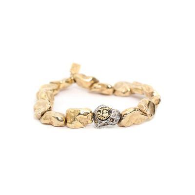 Tat 2 Gold Bracelet