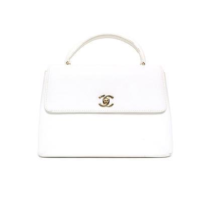 Chanel Caviar Top Handle Bag