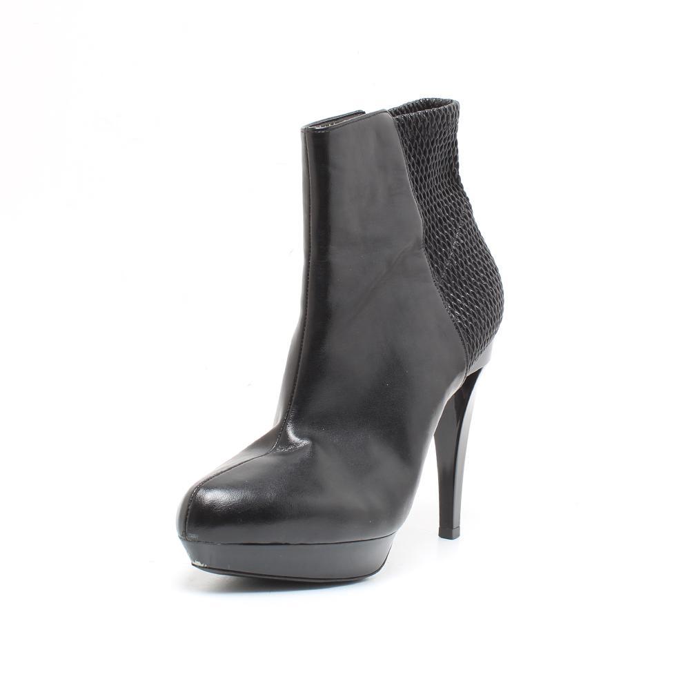 Marni Size 39 Black Leather High Heel Boots