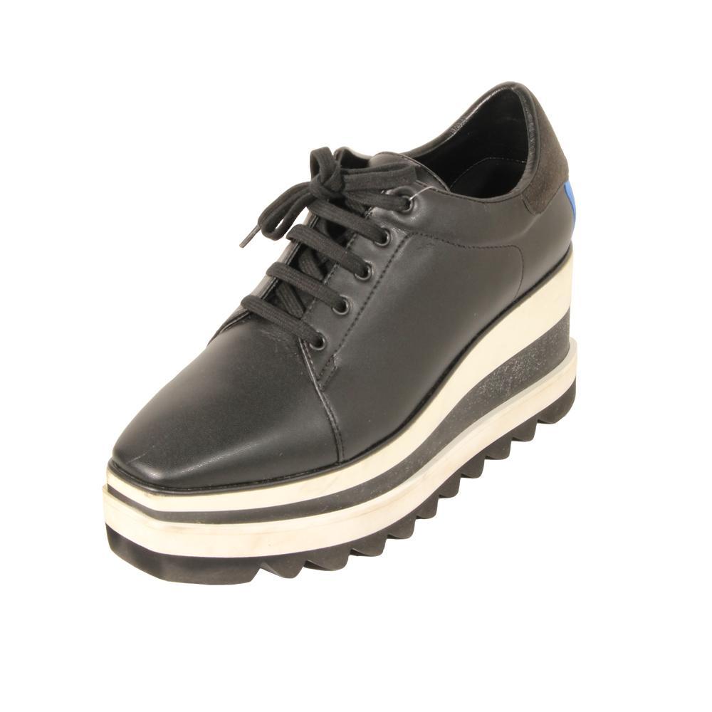 Stella Mccartney Size 36.5 Platform Lace Up Shoes