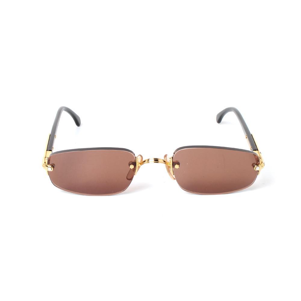 Mont Blanc Meisterstuck Brown Lens Sunglasses