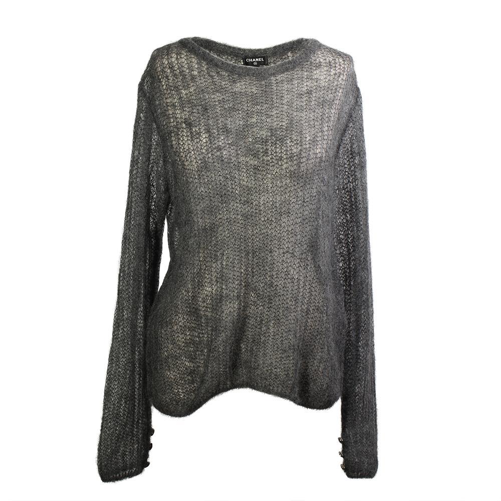 Chanel Size 44 2018 Paris- Hamburg Sweater
