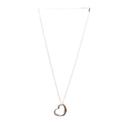 Tiffany & Co. .925 Elsa Peretti Floating Heart on 16