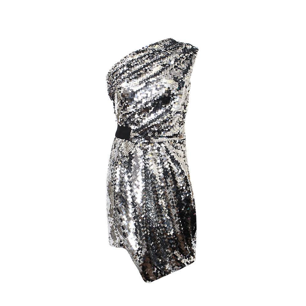 Carven Size 38 Silver Dress