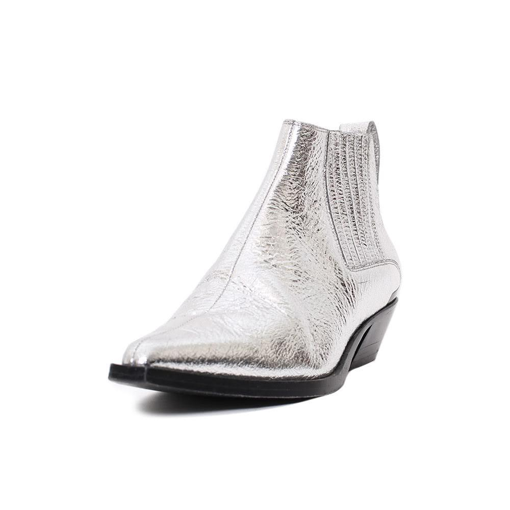 Rag & Bones Size 36 Silver Metallic Boots