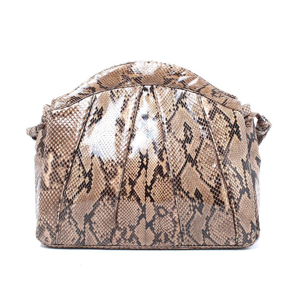 Judith Leiber Snakeskin Leather Crossbody