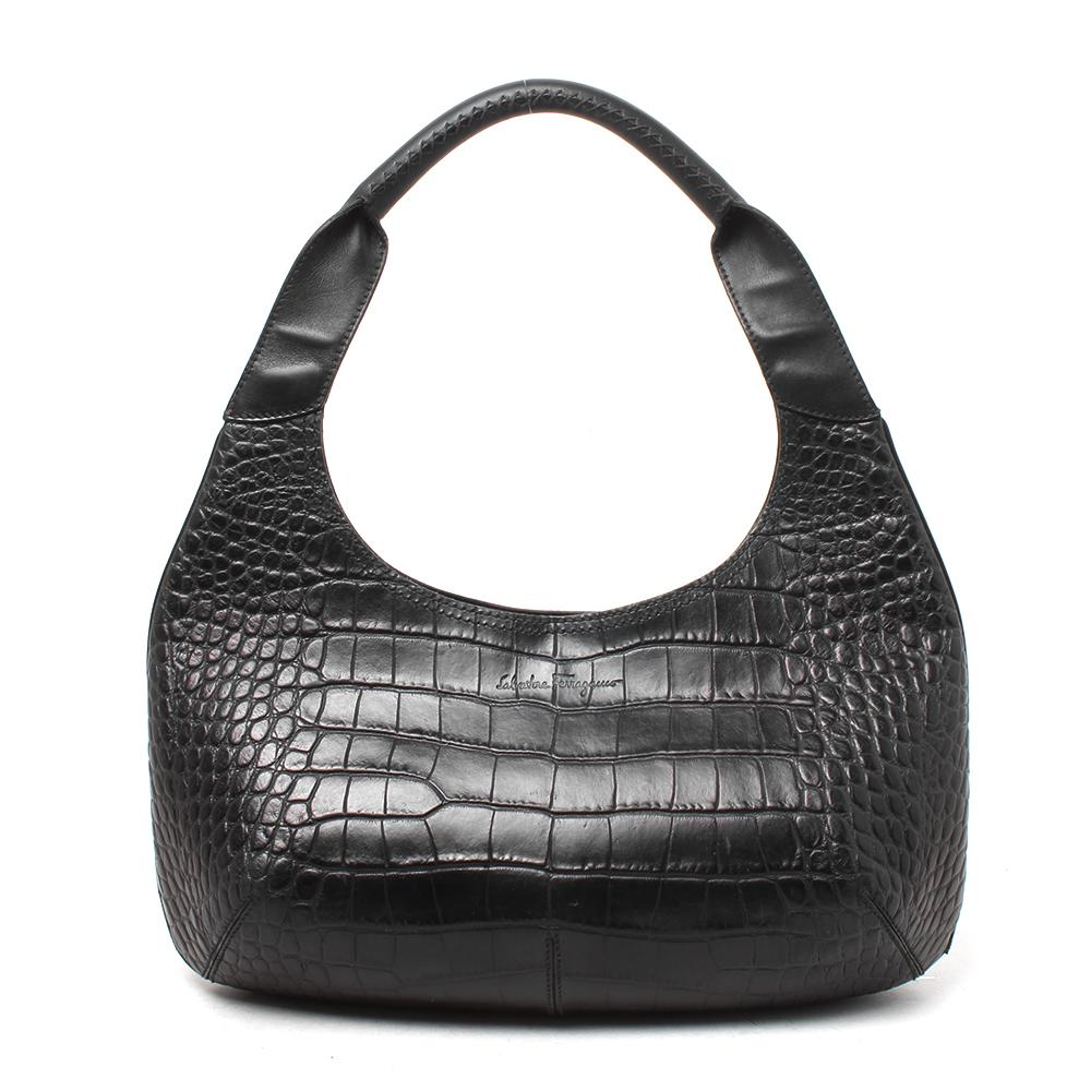 Salvatore Ferragamo Black Handbag