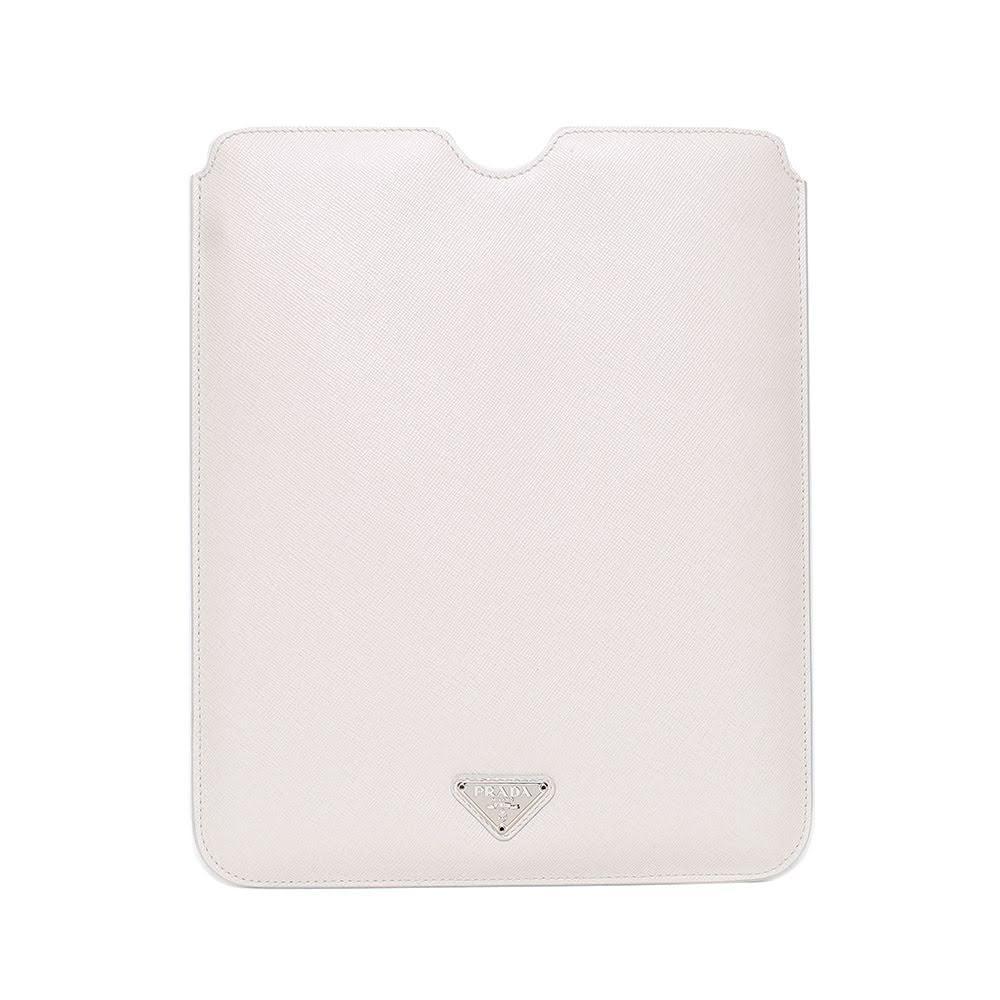Prada White Tablet Case