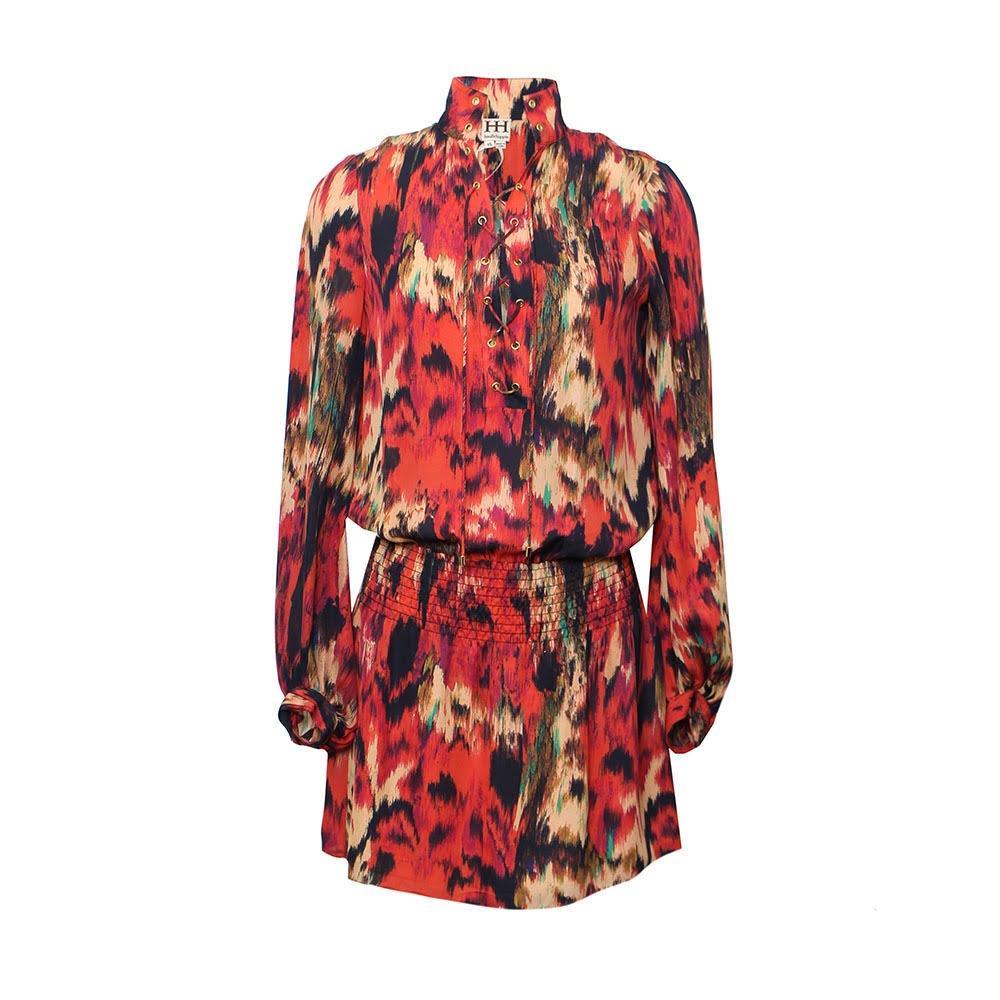 Haute Hippie Size Xs Print Dress