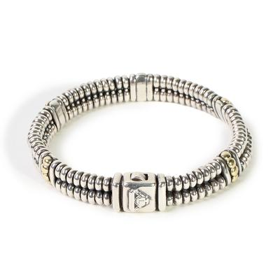 Lagos 18k Yellow Gold & Sterling Silver Bracelet